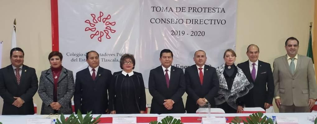 Toma de protesta Consejo Directivo Bienio 2019-2020