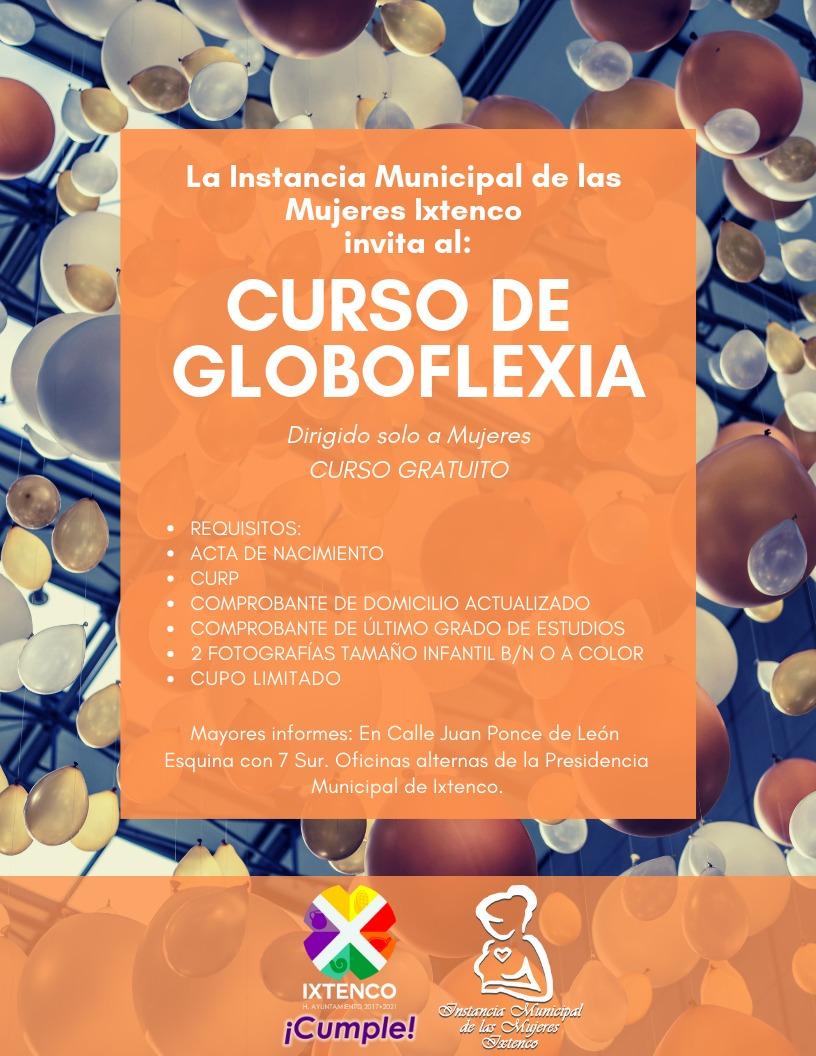 Convoca IMM de Ixtenco a curso de Globoflexia