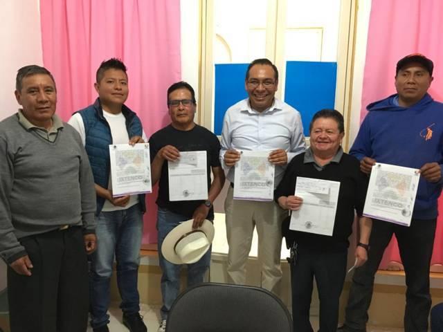 Entrega MACY apoyo a mayordomías de Ixtenco