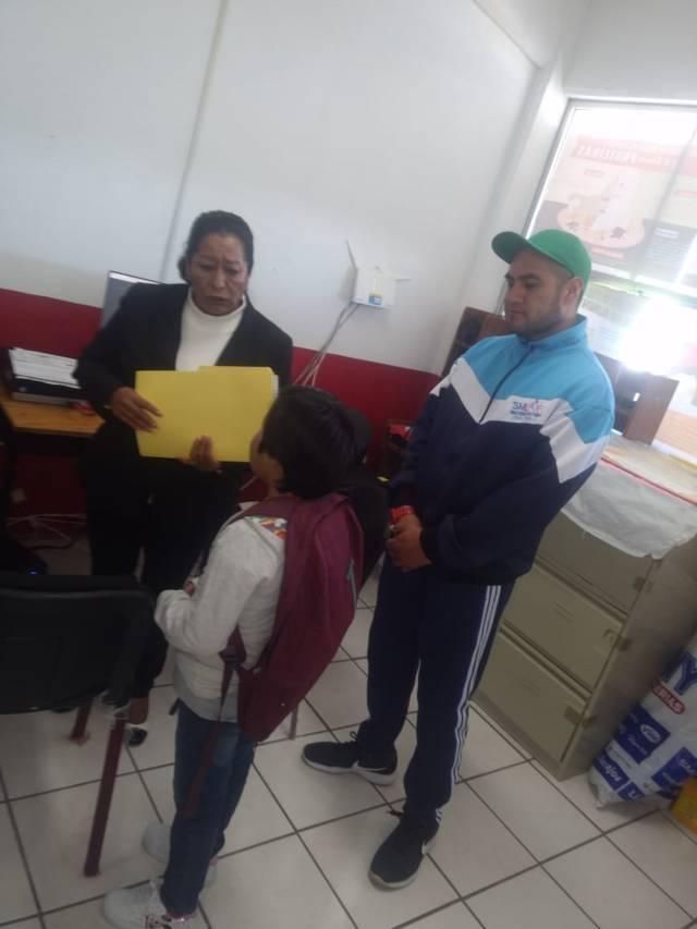 Sedif y Smdif coordinan acciones en apoyo de menor que sufrió maltrato