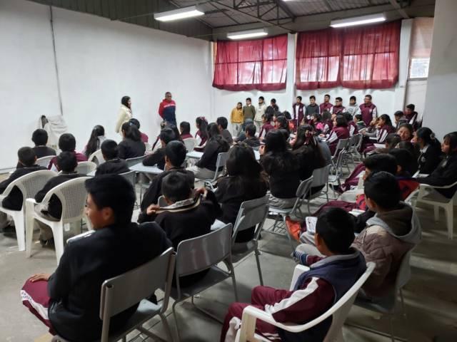 """Prevención del Delito ofrece la plática """"Acoso Escolar y Derechos Humanos"""""""