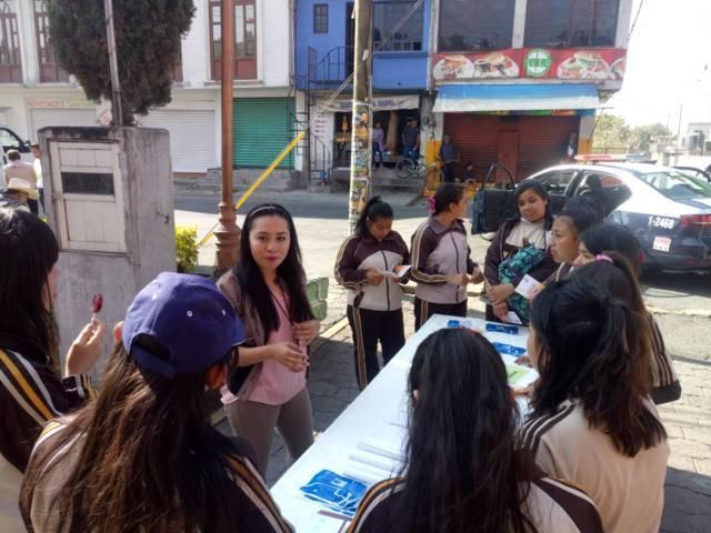 FGR Tlaxcala participa en jornada de prevención del delito en Tetlatlahuca