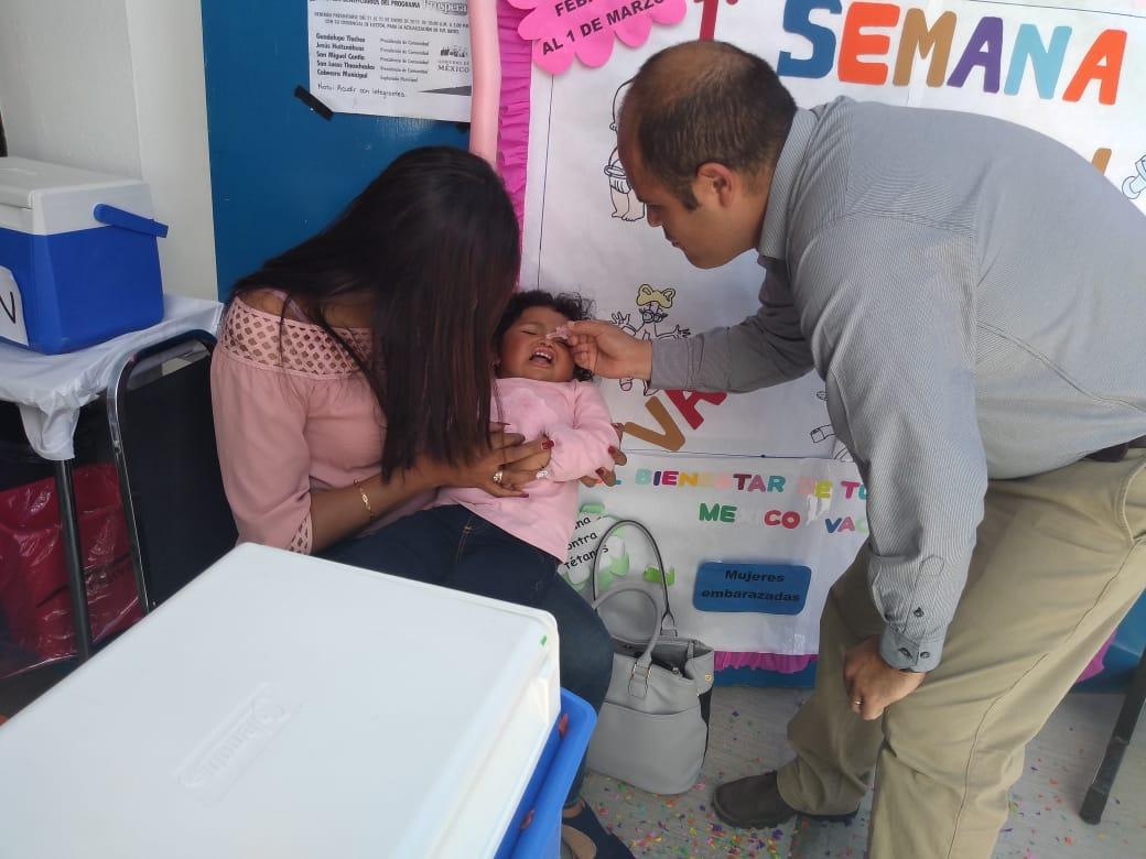 Alcalde aplica la 1ra dosis de vacunación en la Semana de la Salud
