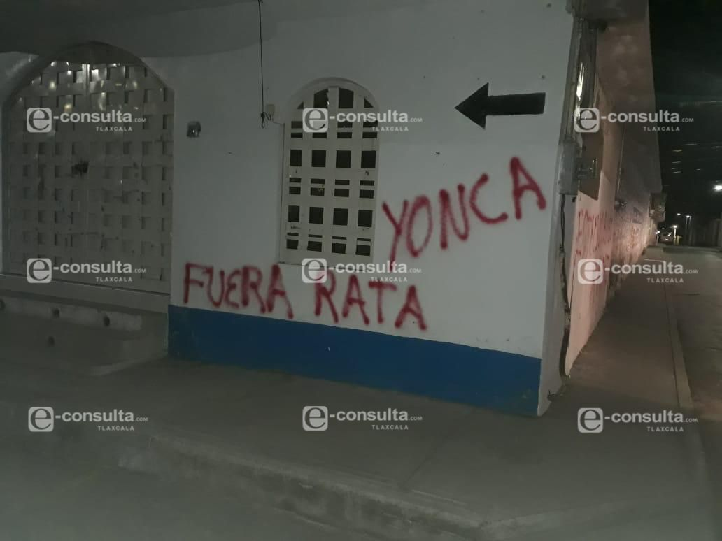 Bandalizan oficinas alternas de alcalde de Ixtenco