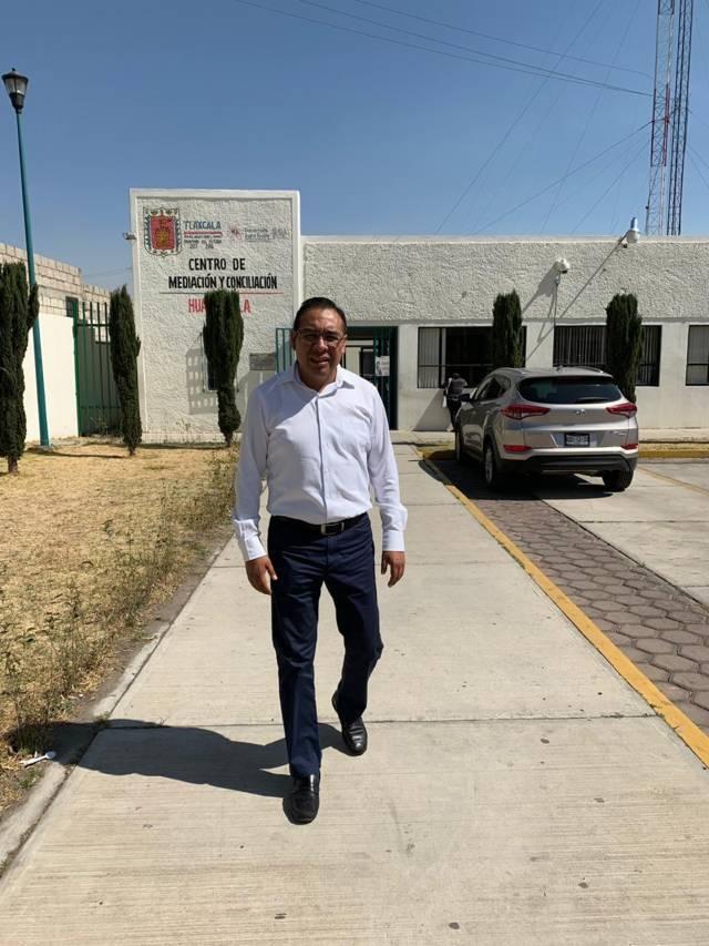 Queda asentada denuncia por actos vandálicos en oficinas de Ixtenco