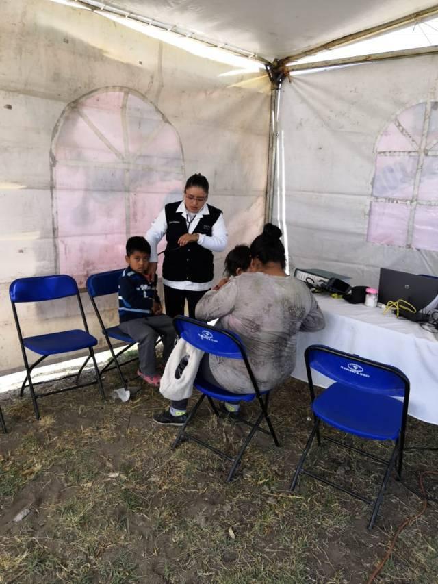 Dirección de Salud de Lardizábal y Sesa acercan atención médica gratuita a habitantes