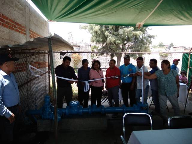 "Alcalde de Lardizábal entrega bomba de agua potable a habitantes de la colonia ""Emiliano Zapata"""