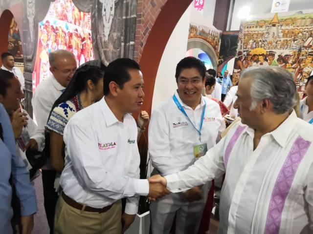 Nanacamilpa presente por segunda ocasión en Tianguis Turístico