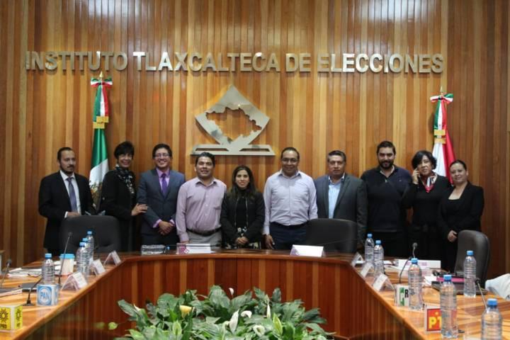 Se consolida el PES en Tlaxcala de la mano de Garrido