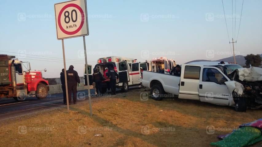 Pollero provoca accidente en la carretera Ocotoxco- Calpulalpan