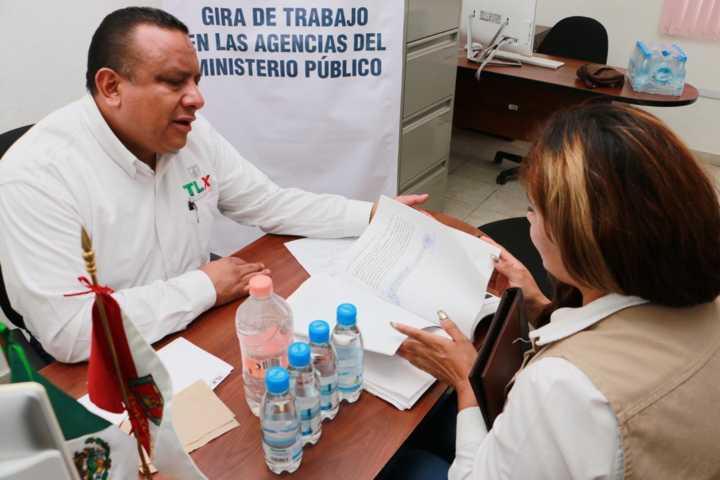 Concluye de manera exitosa gira de trabajo del procurador de Tlaxcala