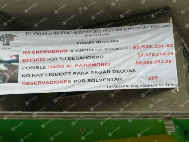 Alcalde cachondo es exhibido como ladrón por vecinos de Panotla