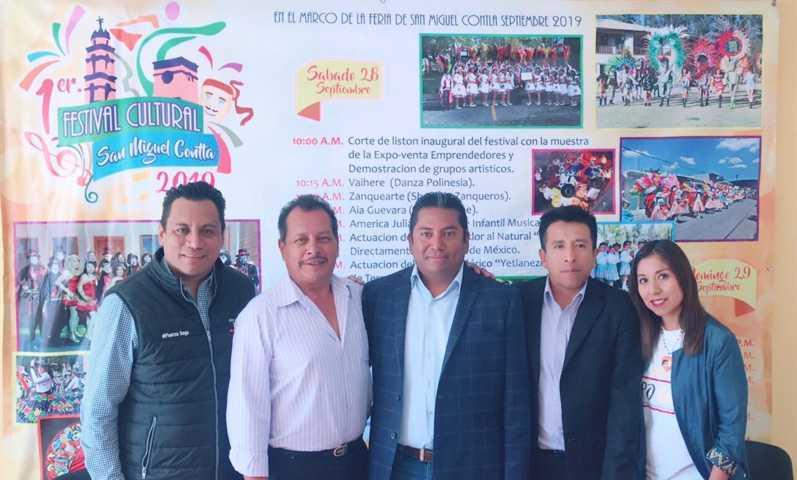 Presentan Programa del Festival Cultural San Miguel Contla 2019