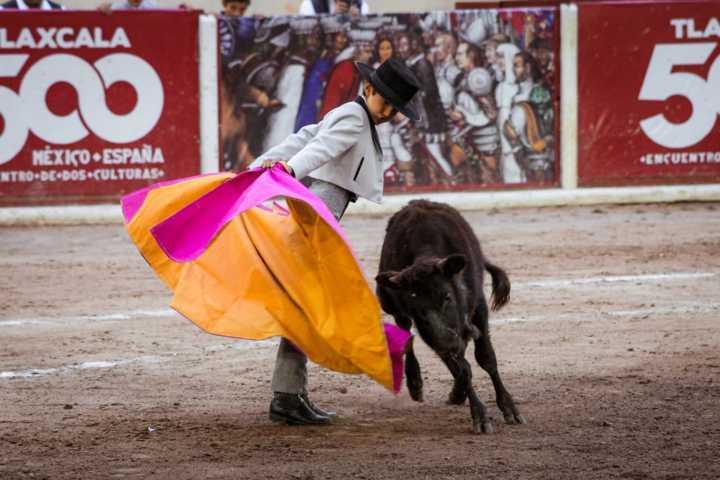 La Escuela Taurina de Tetla empieza a dar resultados con Marco Peláez