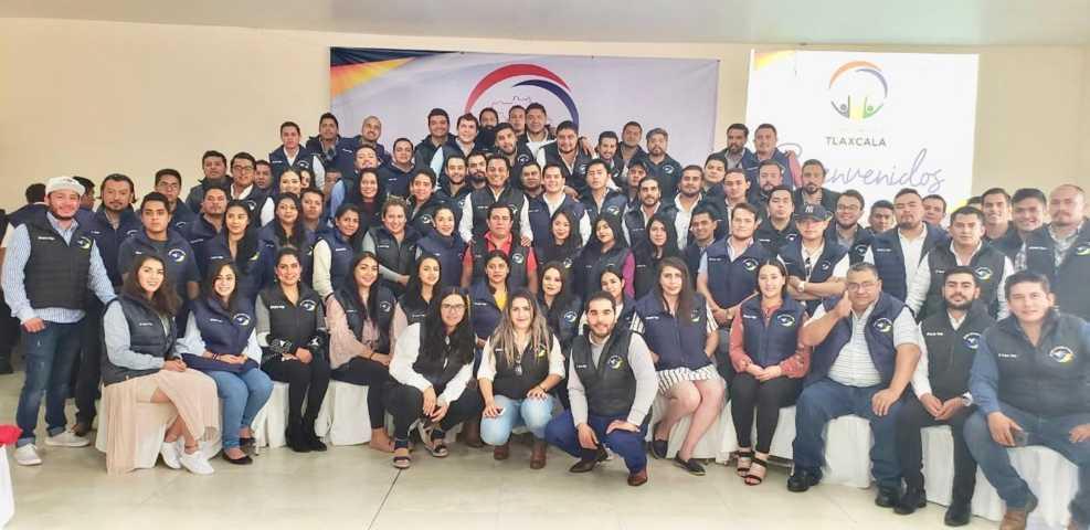 El SAGA comparte su experiencia de vida con la organización Jóvenes Impulsando Tlaxcala