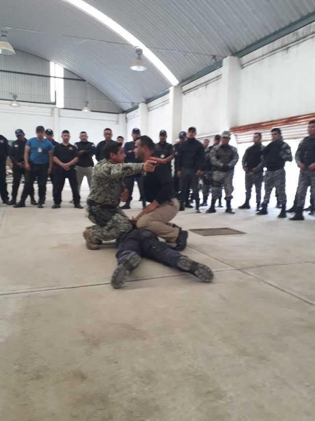 Tepetitla fue sede del 1er. Seminario Estatal Combatives para personal Operativo