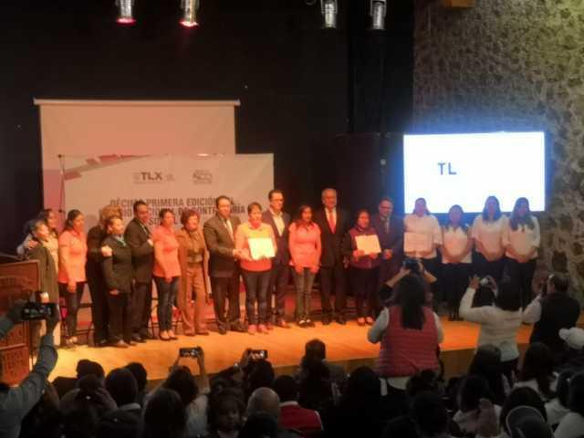 Tepetitla de Lardizábal fue acreedor al 2do. Lugar del Premio Nacional de Contraloría Social