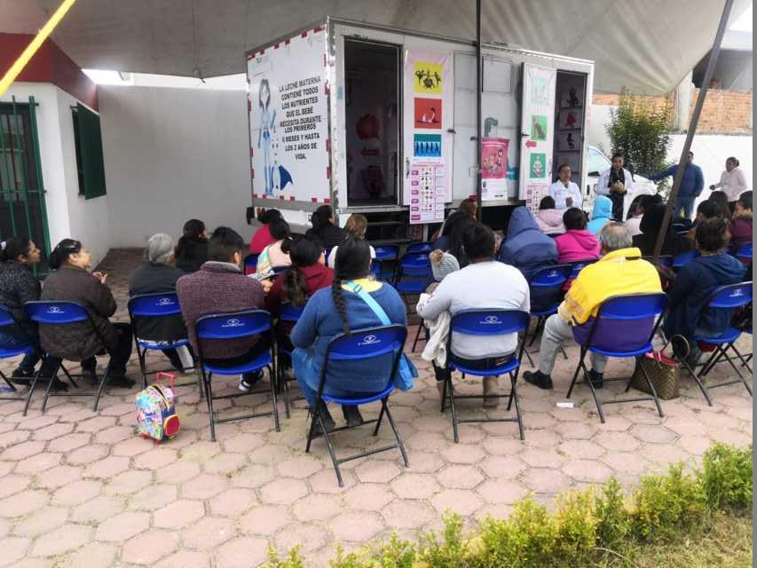Se realizó la Feria de la Salud en la comunidad de San Mateo Ayecac