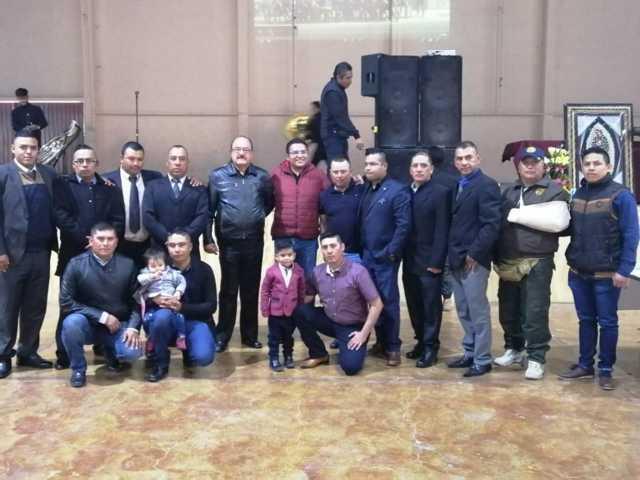 Alcalde felicita a los policías de Apizaco