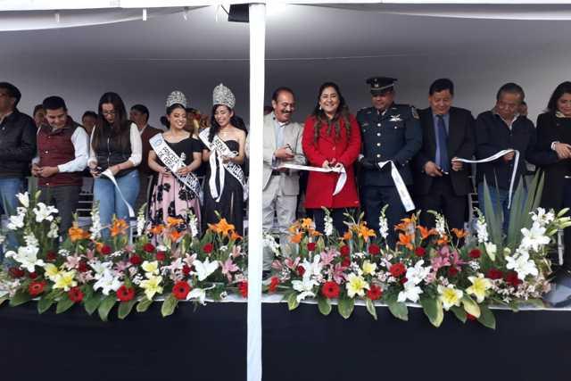 Tomás Orea y la SECTUR inauguran la feria de Zacatelco 2020