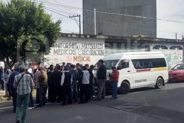 Sigue conflicto en Zacatelco por invasión de rutas