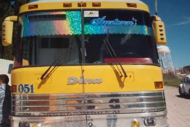 Director vende un autobús escolar sin autorización en Chiautempan