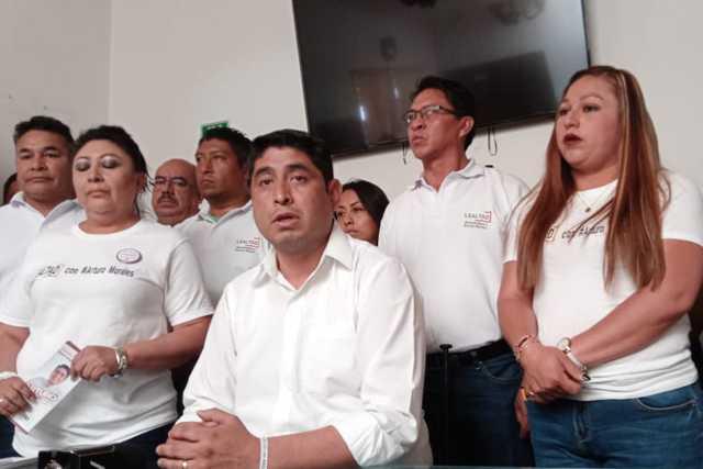 Planilla blanca tiene posibilidades de asumir la secretaria del SNTE: Morales