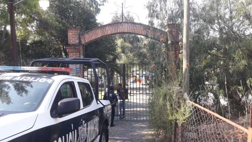 En Santa Cruz Tlaxcala realizan operativo a balnearios por contingencia sanitaria