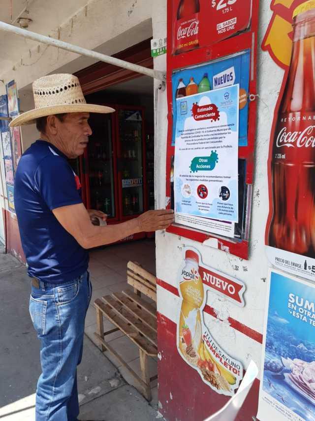 Gobierno de Tepetitla pide a comerciantes establecer medidas preventivas por COVID-19