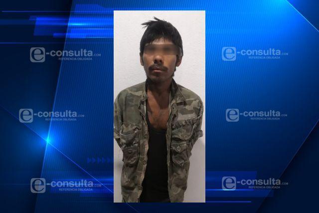 Detiene Policía de Apizaco a sujeto con arma 'hechiza'; cuenta con antecedentes criminales