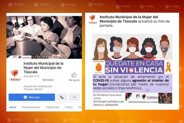 Brinda IMM de Tlaxcala atención en línea