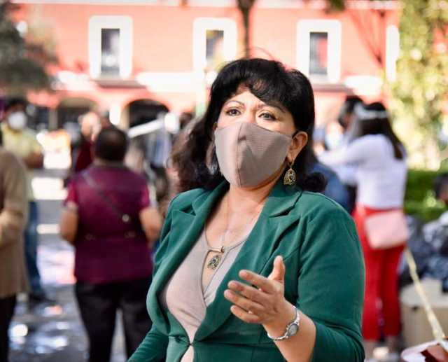 Advierte Anabell Ávalos que clausurará establecimientos que incumplan medidas sanitarias