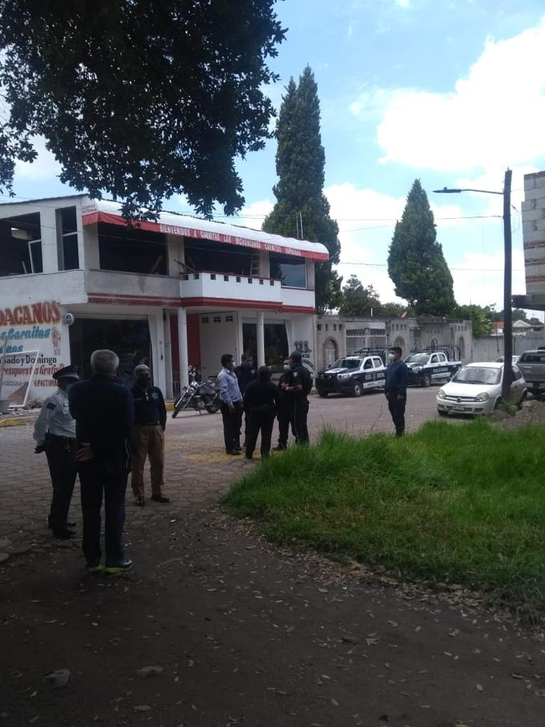 Gobierno de papalotla busca apertura de calle en Los Reyes