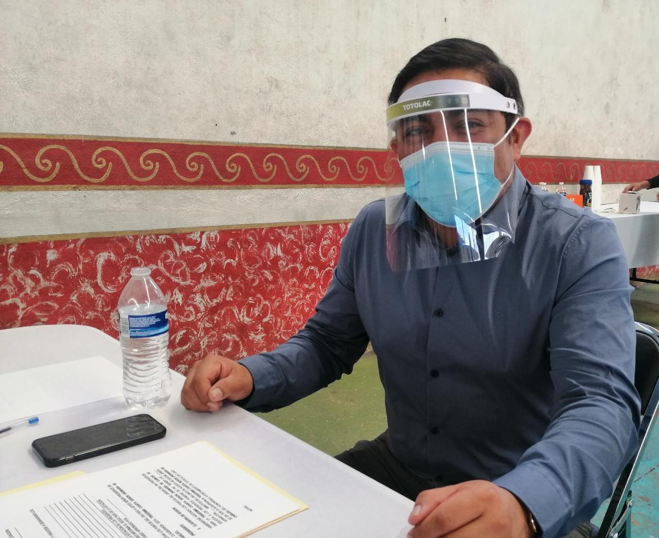 Ayuntamiento de Totolac registra personal libre de contagios por Covid-19