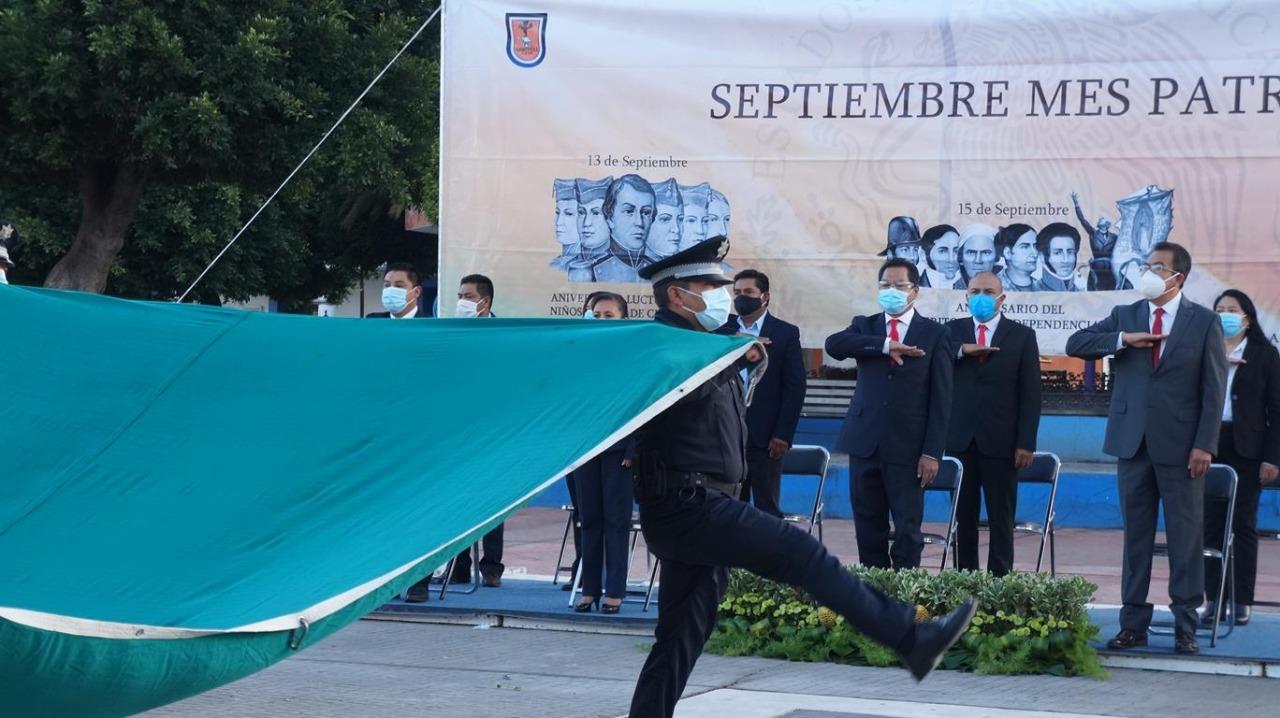 Cutberto Cano conmemora el inicio de la Independencia de México