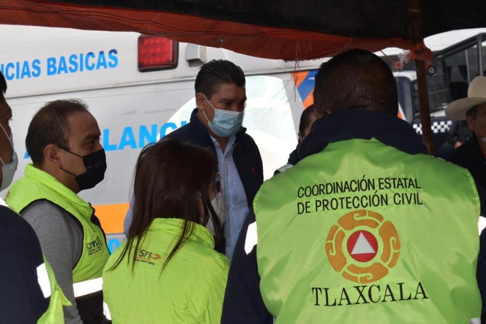 Autoridades de Nativitas emprenden operativo en San Miguel del Milagro