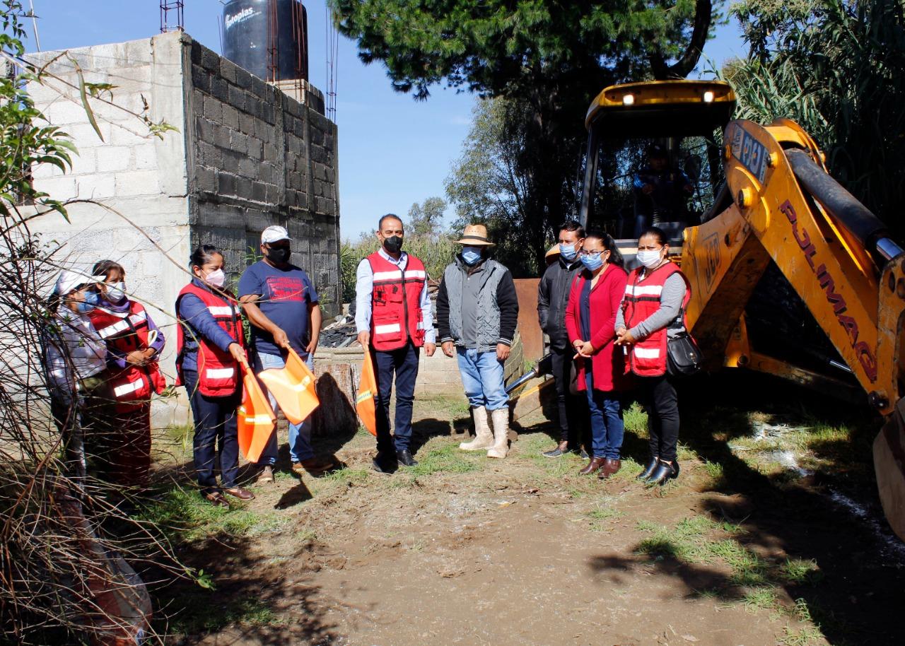 Imparable la ejecución de obras en el municipio de Xiloxoxtla