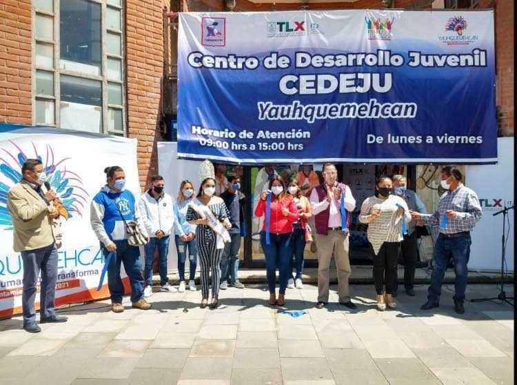 Reabren el Centro de Desarrollo Juvenil en Yauhquemehcan