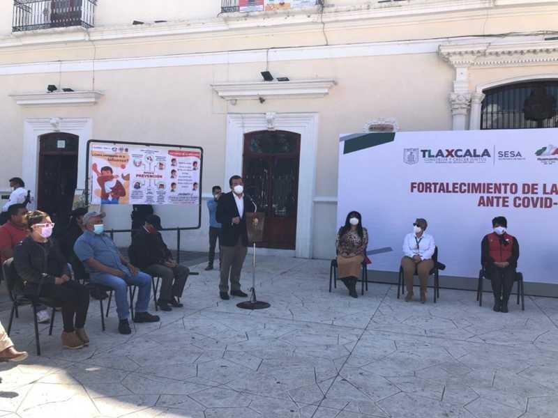 Ayuntamiento  de Huamantla y SESA dan paso a las Brigadas Municipales de salud