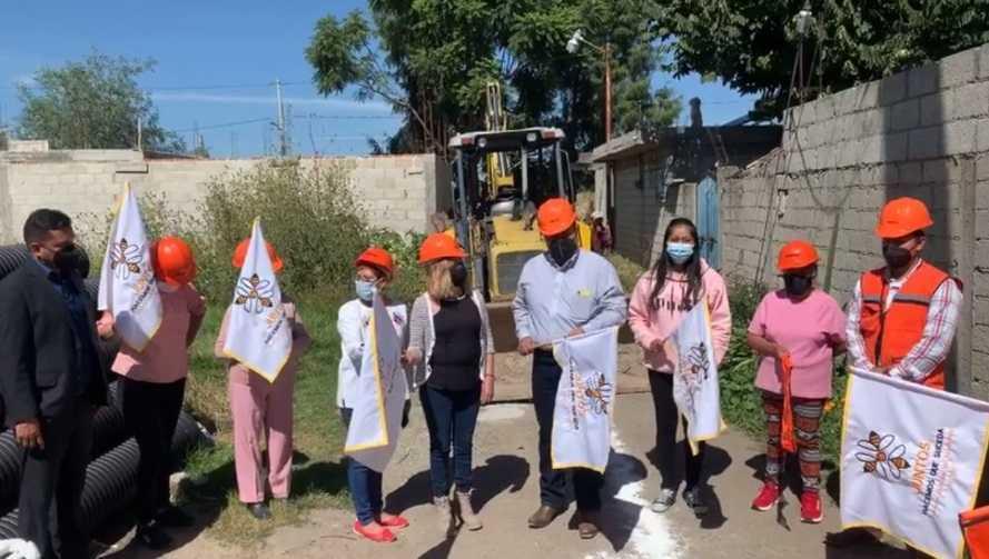 Inicia ejecución de dos obras en Xicohtzinco por 750 mil pesos