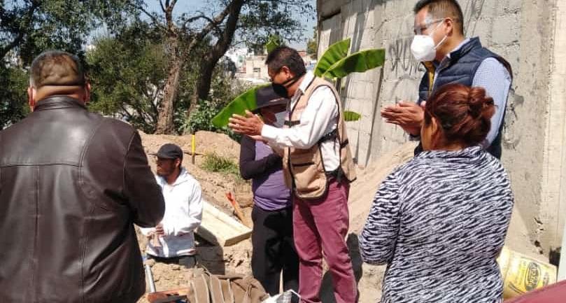 Se construye un nuevo preescolar en San Pablo del Monte