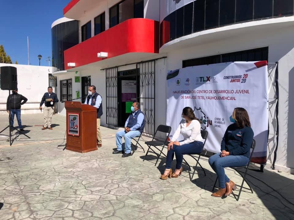 Inauguran en Yauhquemehcan el segundo Centro de Desarrollo Juvenil