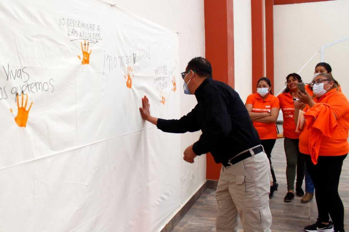 Ayuntamiento de Xiloxoxtla se suma a la lucha contra la violencia hacia las mujeres