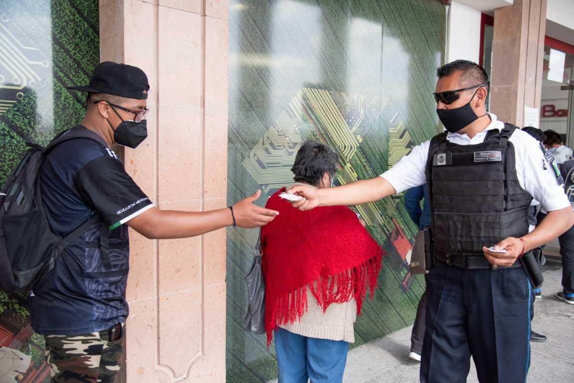 Implementa policía capitalina programa de Acompañamiento a Cuentahabientes