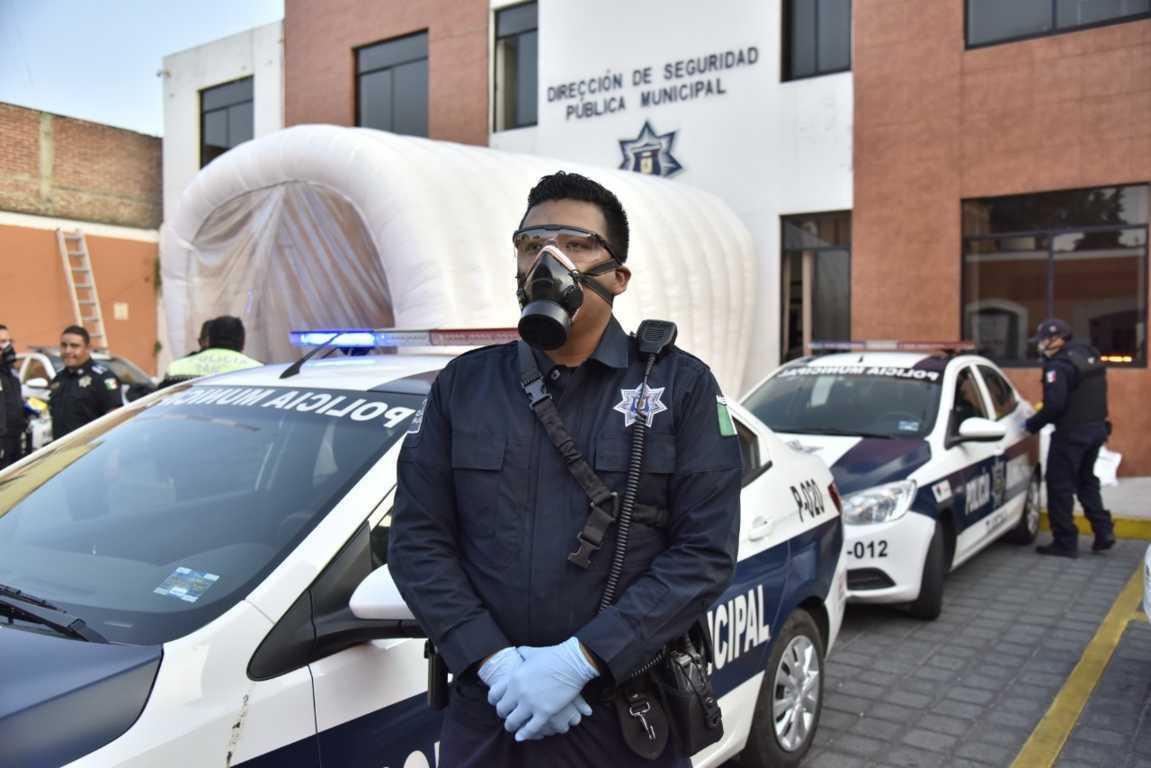 Fortalece policía capitalina estrategias de seguridad