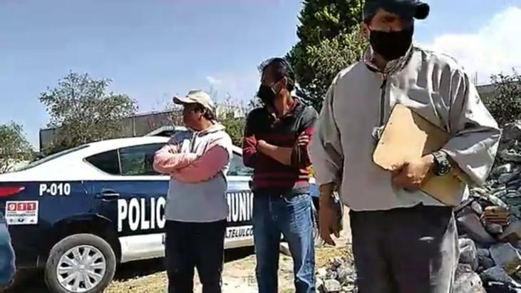 El Picapiedra autoriza que las patrullas de Tlaltelulco se utilicen como taxis