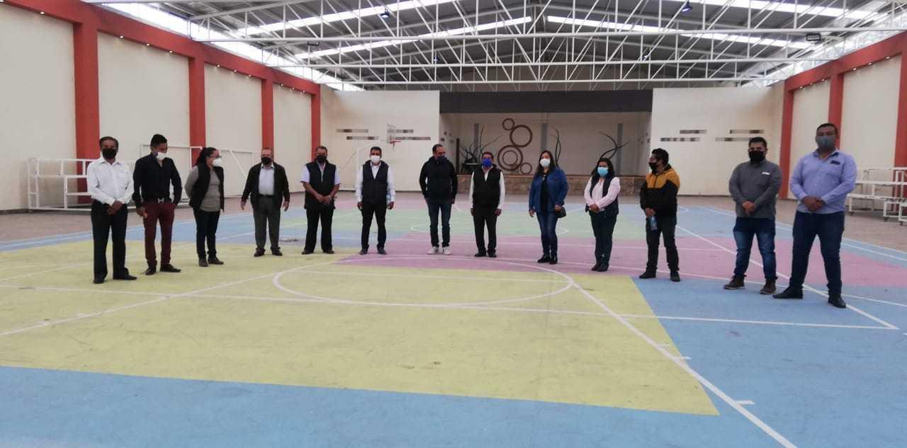 Edil y fiscales de Xiloxoxtla acuerdan redoblar las medidas contra el Covid