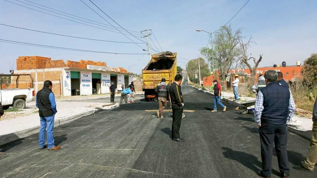 Concluyó la obra de impacto de la carretera Ixtacuixtla a San Diego Xocoyucan