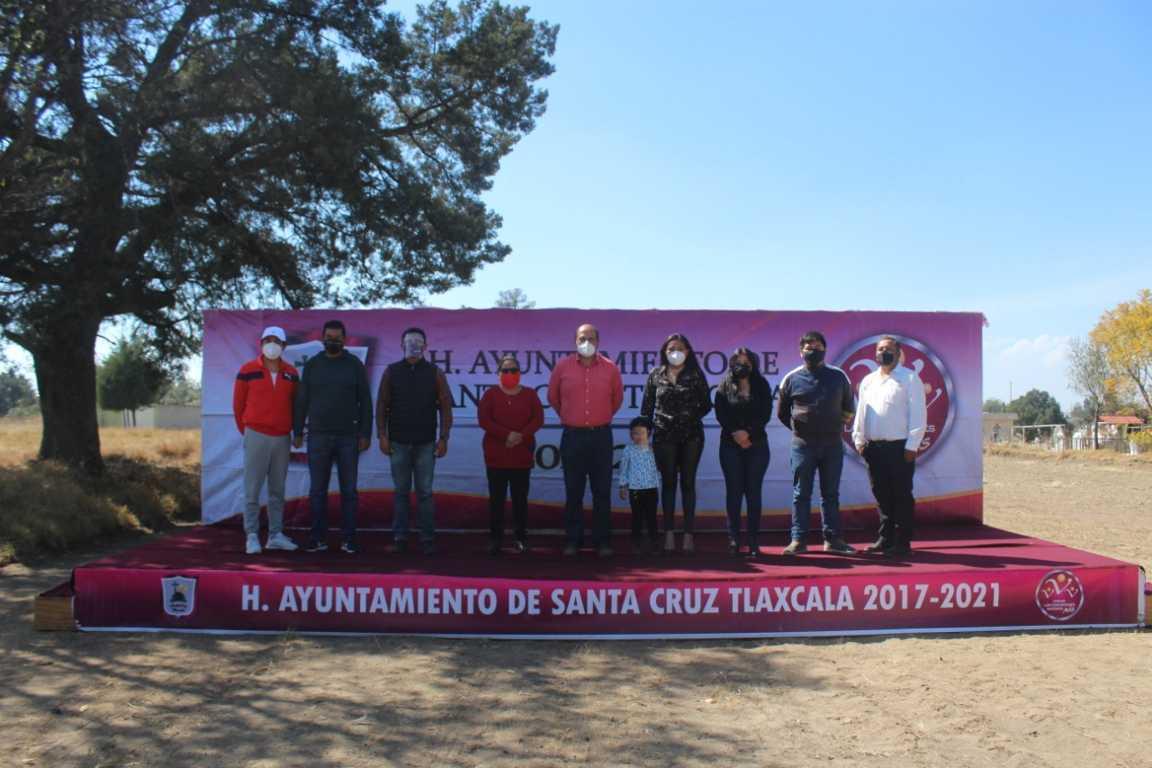 Dan inicio los trabajos de ampliación en el Panteón Municipal de Santa Cruz Tlaxcala