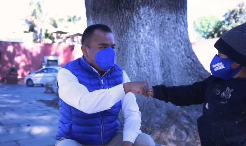 Pronto será el tiempo de retomar el rumbo de Apetatitlán: Ángelo Gutiérrez